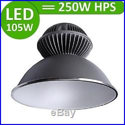 105W LED High Bay Light Lighting Fixture Lamp Warehouse Industrial Factory White