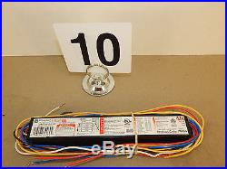 (10) GE T8 ELECTRONIC BALLASTS GE432MAX-G-N-42T 74464 ULTRA-MAX G-SERIES