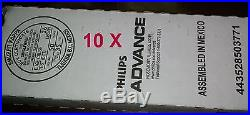 (10 Pack) New Philips Advance ICN4P32N 120-277V 3 & 4 Lamp T8 Electronic Ballast