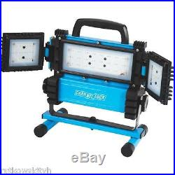 120V Channellock H-Bar Stand LED Work Light with 2500-Lumen Output
