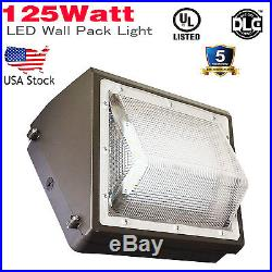 125W Wall Pack Outdoor Lighting Led 800W HPS MH Bulb Replacement for Building