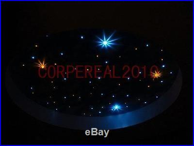 12W RGB led source for fiber optic ceiling Light with remote controller