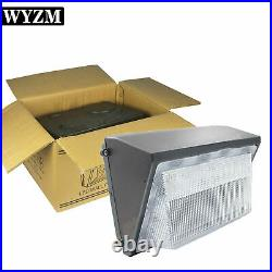 150W 100-277V LED Wall Pack Light with photocell Dusk to Dawn Outdoor 18000LM
