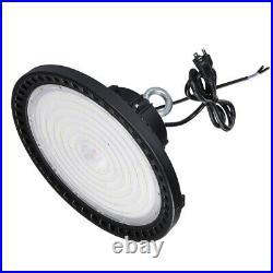 200W Dimmable LED UFO High Bay Lighting DLC Listed Warehouse Commercial Light