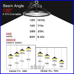 200W UFO LED High Bay Light Commercial Lamp Industrial Warehouse Factory Light