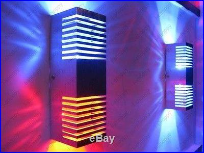 2W Up/Down LED Wall Sconce Light Porch Walkway Lobby Cafe Bar Bulb Lamp Fixture