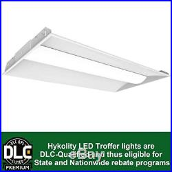 2' x 4' Modern Style Troffer Lay-In 50W LED Panel Light Dimmable 6500lm-Set of 2