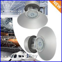 2pcs 150W LED High Bay Warehouse Light Bright White Fixture Factory Outdoor Shop
