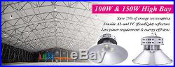 300W LED High Bay Light for Warehouse Mall Gym Industrial Commercial Shop