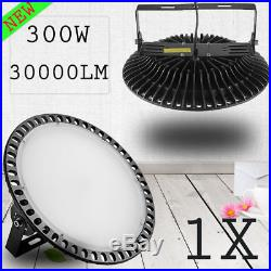 300W UFO LED High Bay Light Ultra-thin Warehouse Factory Lights Industrial Lamp