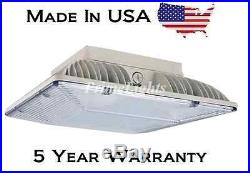3112 Lumens LED Small Canopy 39 W 5000K Cool White Light NEW