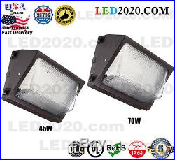45With70W LED Wall Pack Outdoor Industry Standard Forward Throw Replaces 175With250W