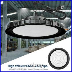 4Pack 100W UFO Led High Bay Light Warehouse Factory Commercial Light Fixtures