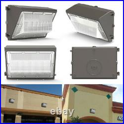4Pack 120W Led Wall Pack Commercial Industrial Light Dusk to Dawn Outdoor Lights
