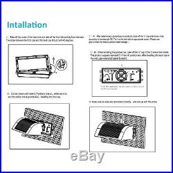 4,400LM Commercial LED Wall Pack Light Waterproof Outdoor Building Mounted 4 Pcs