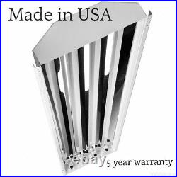 4 Lamp High Bay T5 High Output Fluorescent Light Fixture With Bulbs and Wire Guard