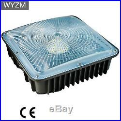 4 Pack 45W LED Gas Station Canopy Light 5500K Daylight Equivalent to 250W HID/MH