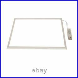 600 x 600 LED Panel 48W 40W Recessed Edge Lit Suspended Ceiling Cool White Light