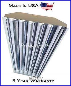 6 Bulb / Lamp T8 LED High Bay Warehouse, Shop, Commercial Light With CORD & PLUG