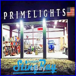 6 PACK T8 LED High Bay Warehouse Shop Commercial Light Fixture USA MADE