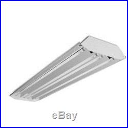 CURVED PROFILE 6 LAMP T8 FLUORESCENT HIGH BAY FIXTURE SHOP WAREHOUSE STORAGE