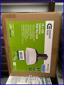 Commercial Electric 750-Watt Equivalent Black LED Industrial High Bay Light