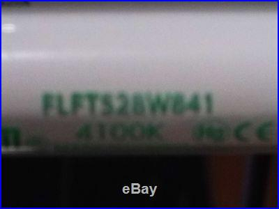 DISPLAY OR UNDER CABINET ULTRA SLIM 4' FLUORESCENT LIGHT FIXTURES single t5 28w