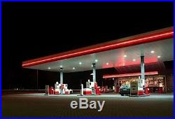 LED Canopy Light for Gas Stations Waterproof Lights 20221 Lumens 150W 5000K DLC
