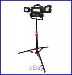 LED Tripod Work Light with Stand Portable Utility Worklight Lighting 3200 Lumens