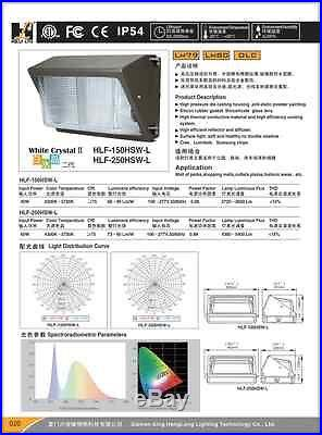 LED Wall Pack 40W fixture light energy efficient FACTORY DIRECT building outdoor