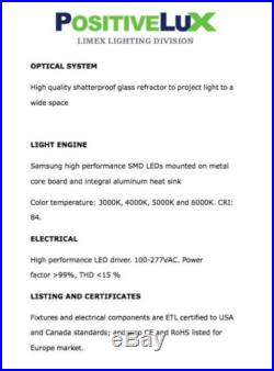 LED Wall Pack 40W light fixture energy efficient UL outdoor commercial building