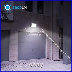 LEONLITE Dimmable 80W LED Wall Pack Light Fixture, 8900lm 5700K Outdoor Light