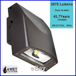 LeonLite LED 30W Wall Pack, UL listed DLC Qualified, 5000K Daylight
