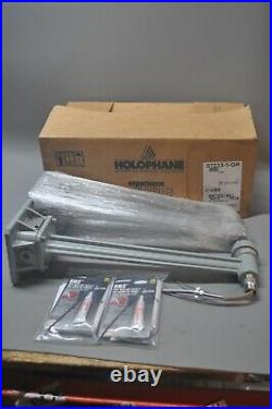 Lot Of 2 Holophane 07233-1-gr Wall Arm Backet Nos Free Shipping