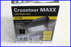 Lot of 2 Eaton Crosstour Maxx Led Wall Pack