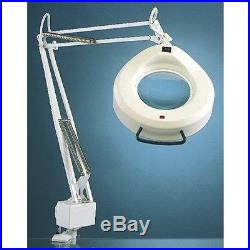 Luxo 16346WT IFM Magnifier Light, White with45-inch arm
