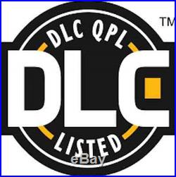 NEW DLC Certified LED Linear High Bay Fixture 110w 5000K 13750 Lumens Complete