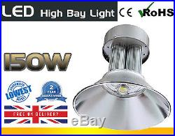 POWERFUL 150w High Bay LED Light Cool White Colour WAREHOUSE INDUSTRIAL CEILING