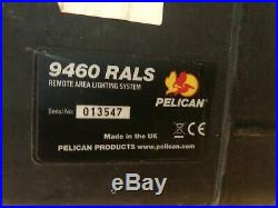 Pelican 9460 RALS Remote Area Lighting System with Black Mobility Carrying Case