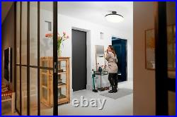 Philips Hue White Ambiance Cher Dimmable LED Smart Semi-Flushmount Light