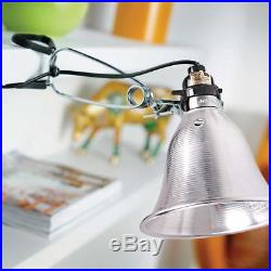 Simple Deluxe Clamp Lamp Light with 5.5-Inch Reflector, 60-Watt, 6-Foot Cord