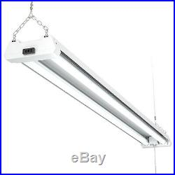 Sunco 24 Pack Frosted LED Utility Shop Light 40W (260W) 6000K Daylight Deluxe