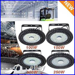 UFO 200W LED High Bay Warehouse Light Bright White Fixture Factory Shop Lamp