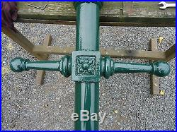 Victorian Station Light, 12 Feet high, With Lamp Post (New Sample)