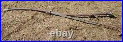 Vintage Electric Light Pole Mounting Pipe for a round pole, sign bracket
