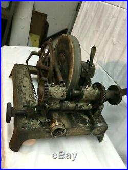 Vtg Stoco Lens Grinding wheel Glass Grinding, Optical Industrial Age machine